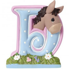 Precious Moments Letter D, D is for Donkey Hallmark Awesome Gifts