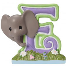 Precious Moments Letter E, E is for Elephant Hallmark Awesome Gifts