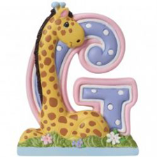Precious Moments Letter G, G is for Giraffe Hallmark Awesome Gifts