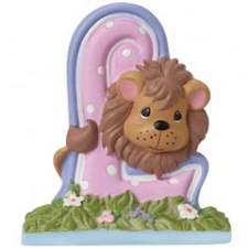 Precious Moments Letter L, L is for Lion, Hallmark Awesome Gifts
