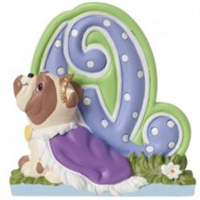 Precious Moments Letter Q, Q is for Queen, Hallmark Awesome Gifts