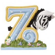 Precious Moments Letter Z, Z is for Zebra, Hallmark Awesome Gifts