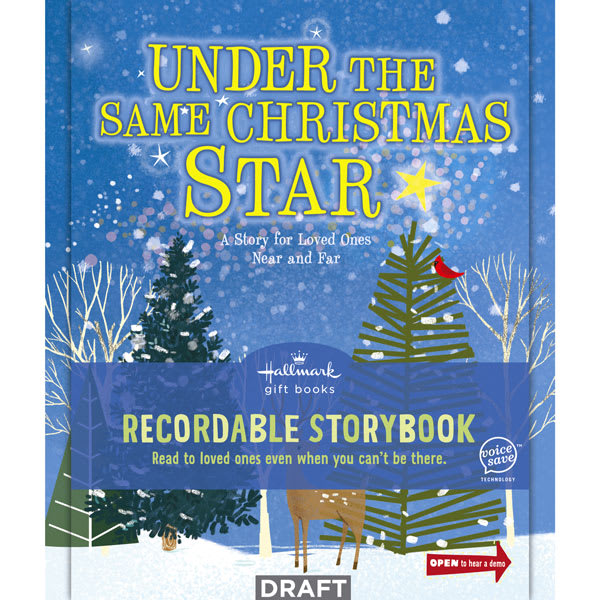 Under the Same Christmas Star: A Message for Loved Ones Recordable Storybook | Hallmark Awesome Gifts