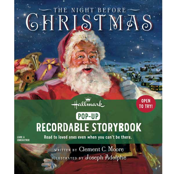The Night Before Christmas Recordable Storybook Pop-Up | Hallmark Awesome Gifts