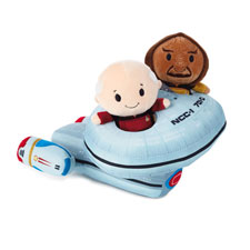 itty bittys® Star Wars™ Captain Picard™ and Worf  | Hallmark Awesome Gifts