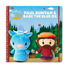 itty bittys® Stuffed Animal - Paul Bunyan & Babe the Blue Ox | Hallmark Awesome Gifts