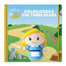 Hallmark itty bittys® Storybook and Stuffed Animal - Goldilocks | Hallmark Awesome Gifts