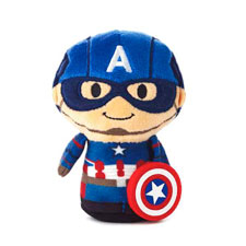 itty bittys® Captain America - second in series Stuffed Animal | Hallmark Awesome Gifts