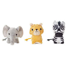 African Animals Limited Edition Happy Go Luckys, Hallmark Awesome Gifts
