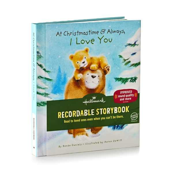At Christmastime and Always, I Love You Recordable Storybook | Hallmark Awesome Gifts