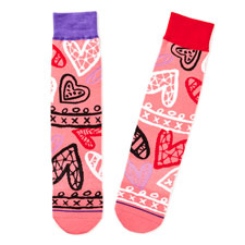 Heart Pattern Socks Hallmark Awesome Gifts
