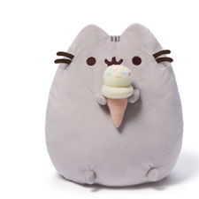 Pusheen Ice Cream Plush| Hallmark Awesome Gifts
