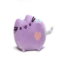 Pusheen purple plush Stuffed Animal | Hallmark Awesome Gifts