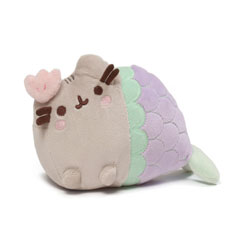 Pusheen Mermaid Clam Shell Plush  | Hallmark Awesome Gifts