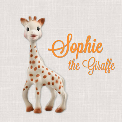 Sophie The Giraffe, Hallmark Awesome Gifts