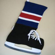 NHL inspired New York Rangers Stocking, Hallmark Awesome Gifts