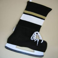 NHL Inspired Pittsburgh Penguin Stocking, Hallmark Awesome Gifts