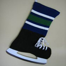 NHL Inspired Vancouver Canucks Stocking, Hallmark Awesome Gifts