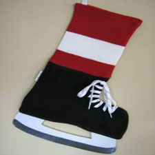 NHL Inspired Detroit Red Wings Stocking, Hallmark Awesome Gifts