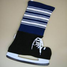 NHL Inspired Toronto Maple Leaf Stocking, Hallmark Awesome Gifts