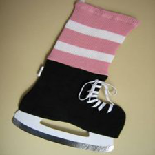 NHL Inspired Pink Toronto Maple Leafs Stocking, Hallmark Awesome Gifts
