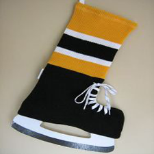 NHL Inspired Boston Bruins Stocking, Hallmark Awesome Gifts