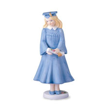 Growing up girls, blonde, graduation, Hallmark Awesome Gifts