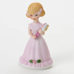 Growing up girls, blonde, age 5, Hallmark Awesome Gifts