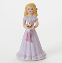 Growing up girls, blonde, age 8, Hallmark Awesome Gifts