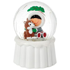 Frosty Friends - Frosty Igloo Snow globe  | Hallmark Awesome Gifts