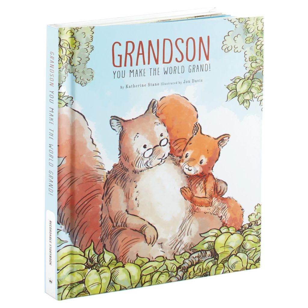 Grandson You Make the World Grand! Recordable Storybook | Hallmark Awesome Gifts