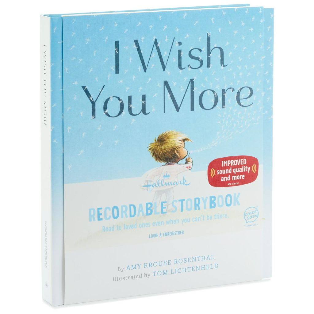 I Wish You More Recordable Storybook | Hallmark Awesome Gifts