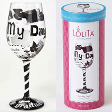 Lolita Wine Glasses - Birthday - It's My Day | Hallmark Awesome Gifts