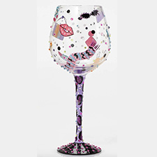 Lolita Wine Glasses - Funny - Shopaholic | Hallmark Awesome Gifts
