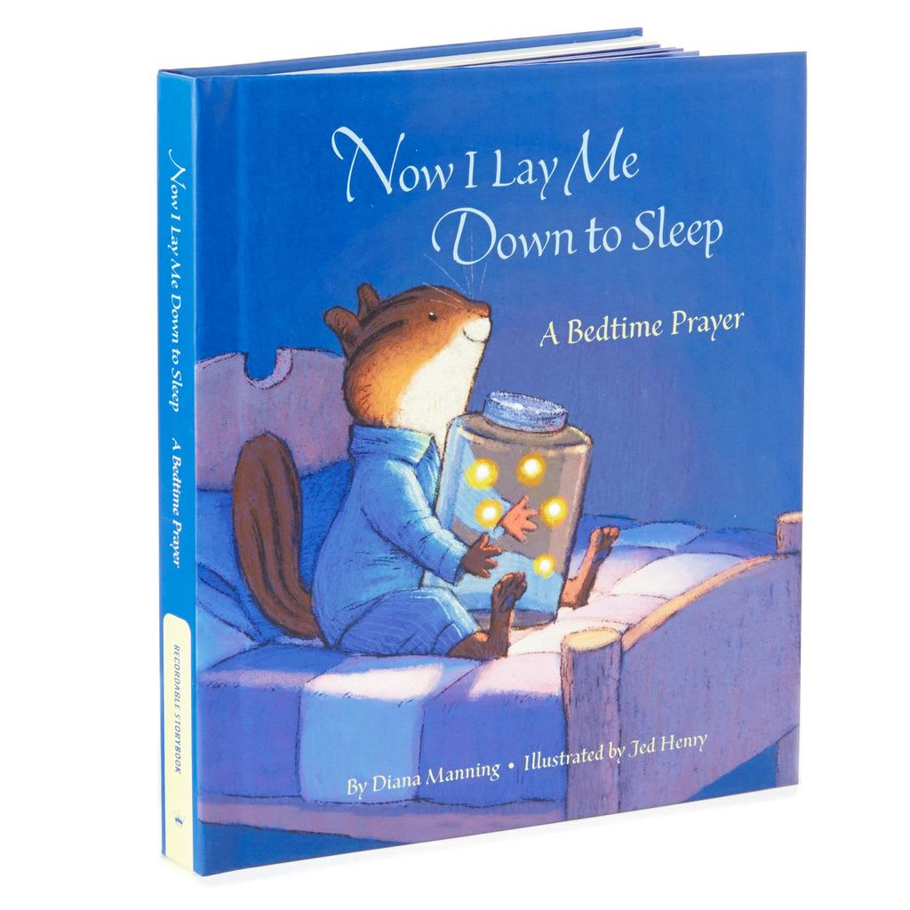 Now I Lay Me Down to Sleep Recordable Storybook | Hallmark Awesome Gifts