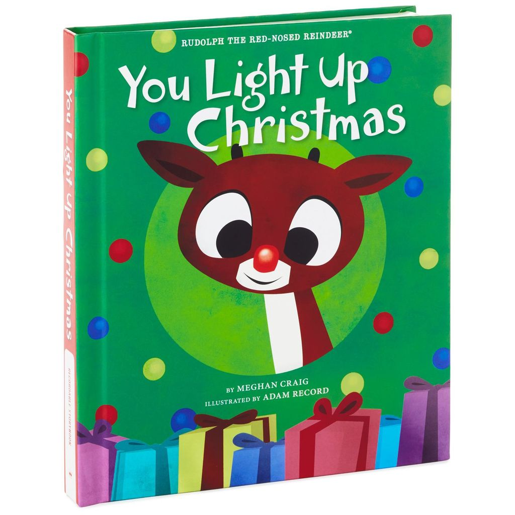 Rudolph the Red-Nosed Reindeer® You Light Up Christmas Recordable Storybook