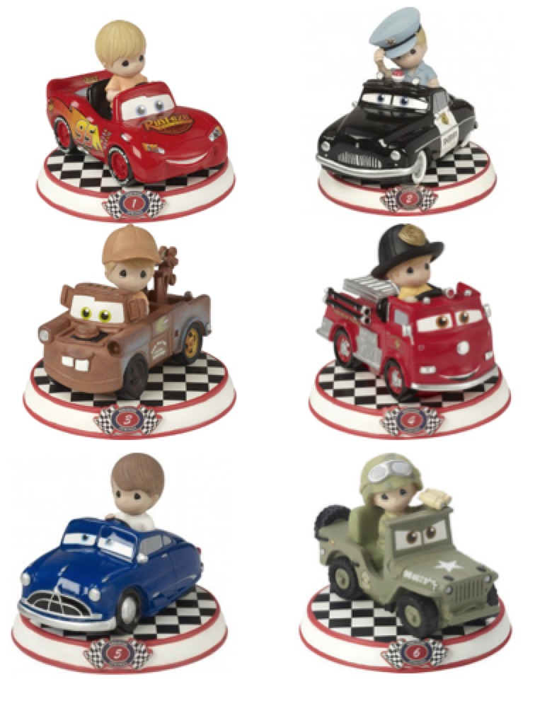 Precious Moments Disney Cars, Hallmark Awesome Gifts