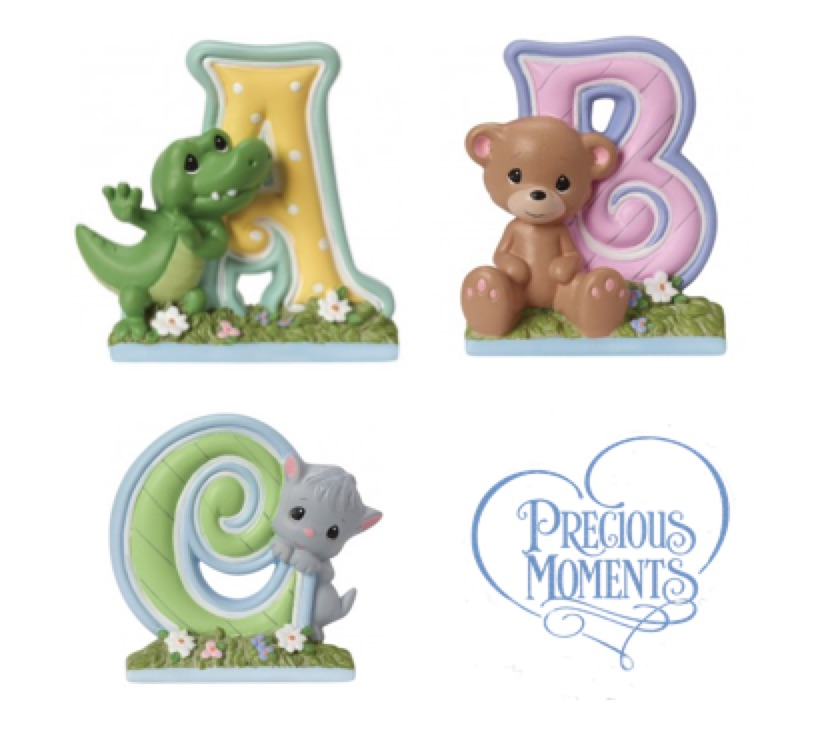 Precious Moments Alphabet Letters, Hallmark Awesome Gifts