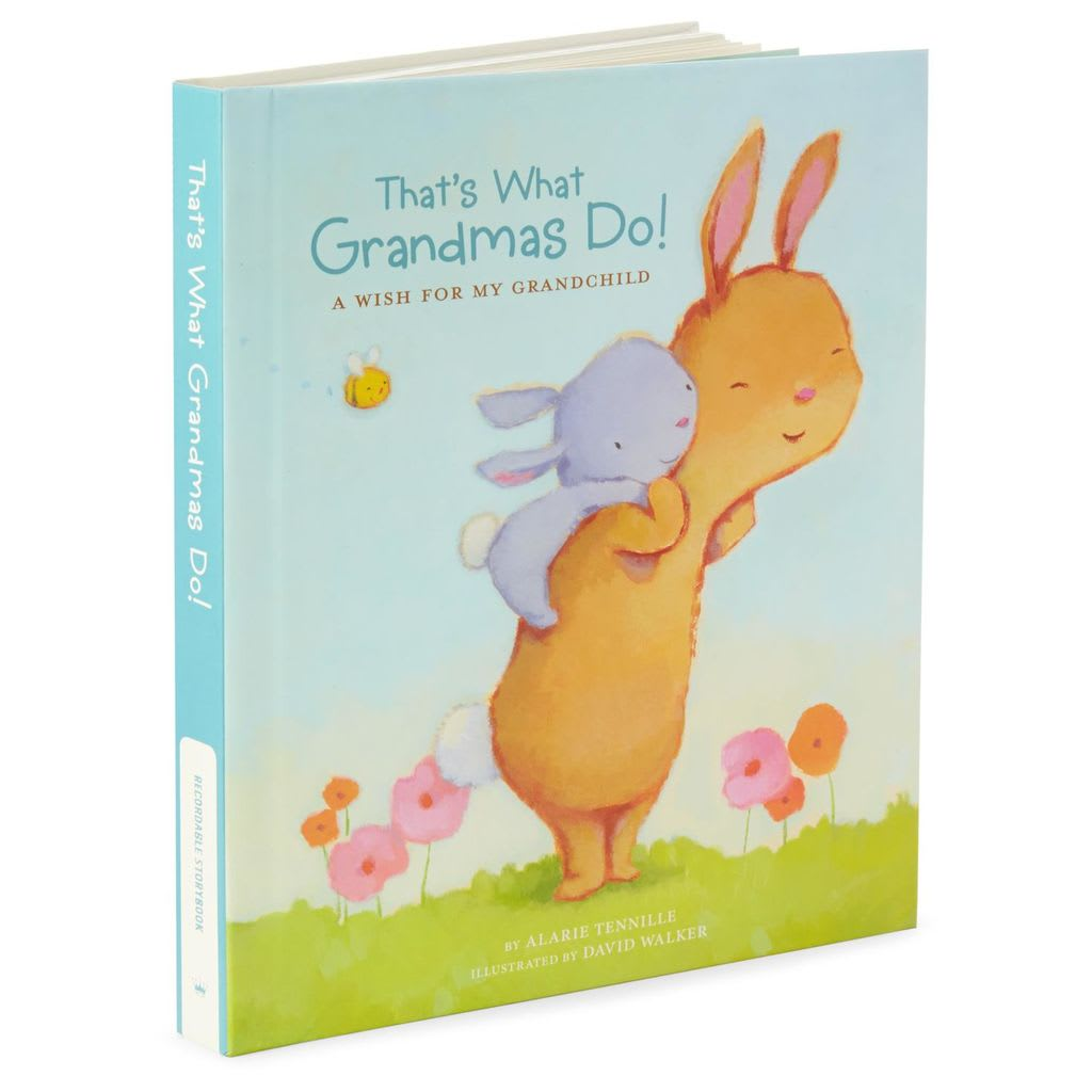 That's What Grandma's Do Recordable Storybook | Hallmark Awesome Gifts