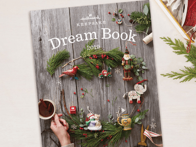 Hallmark 2019 Dream Book , Awesome Gifts