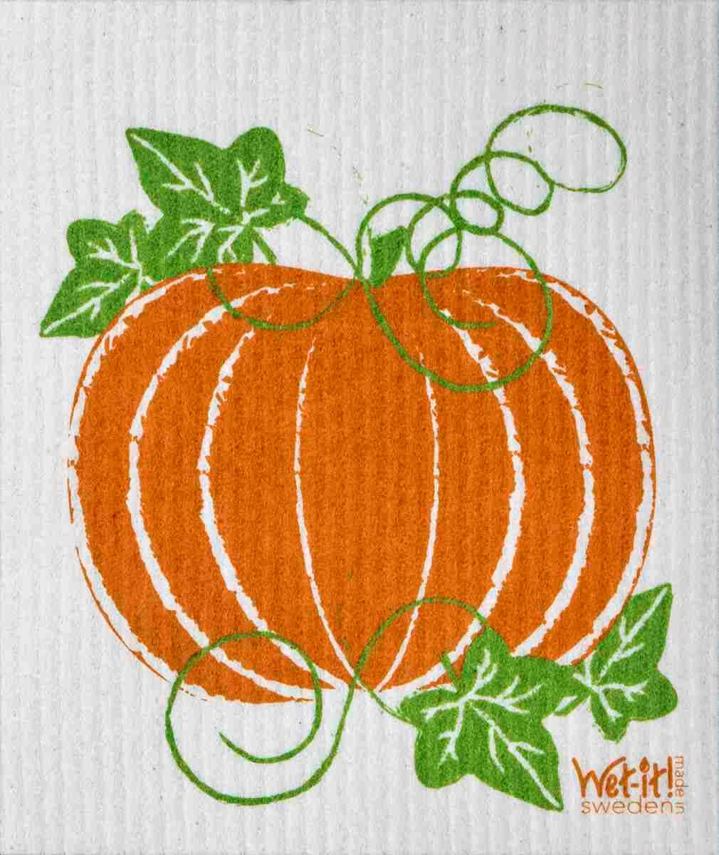Swedish Dishcloth - Pumpkin Patch | Hallmark Awesome Gifts