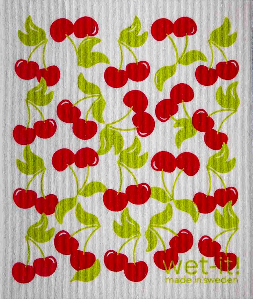 Swedish Dishcloth - Sweet Cherries | Hallmark Awesome Gifts