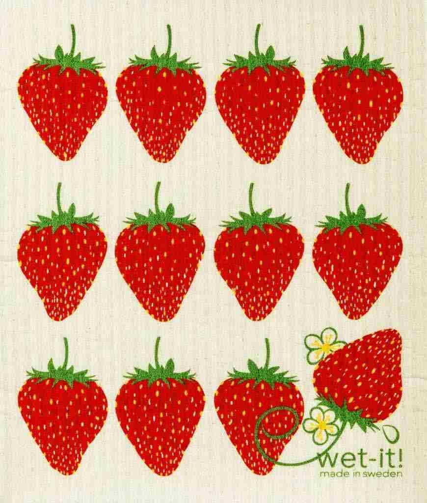 Swedish Dishcloth - Strawberry | Hallmark Awesome Gifts