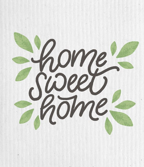 Swedish Dishcloth - Home Sweet Home | Hallmark Awesome Gifts