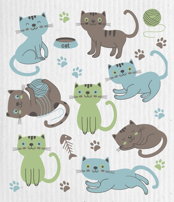 Swedish Dishcloth - Cat Lover | Hallmark Awesome Gifts