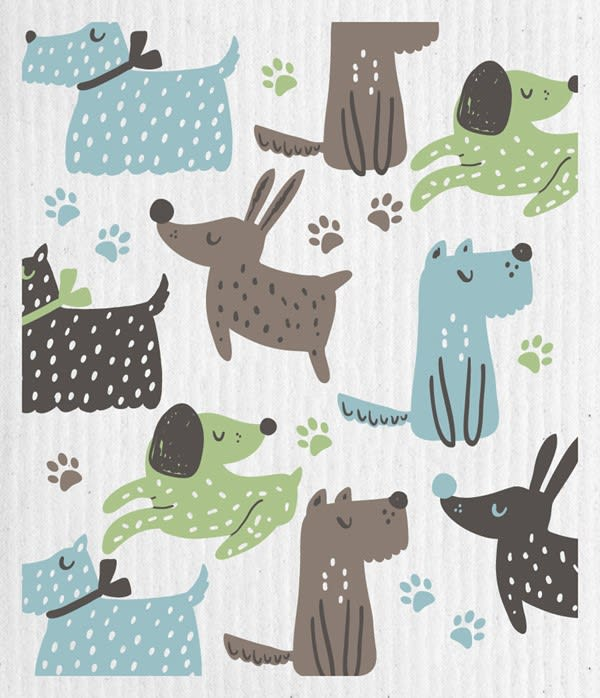 Swedish Dishcloth - Dog Lover | Hallmark Awesome Gifts