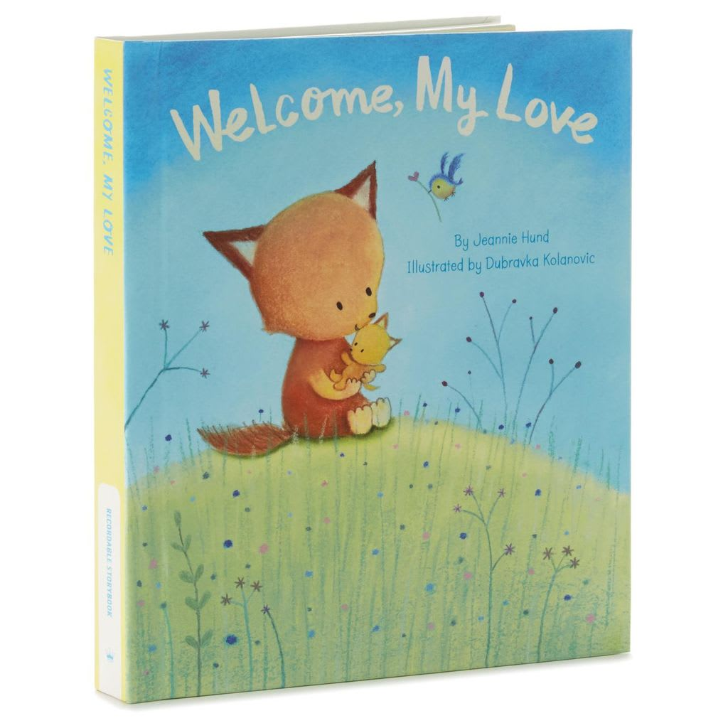 Welcome My Love Recordable Storybook | Hallmark Awesome Gifts