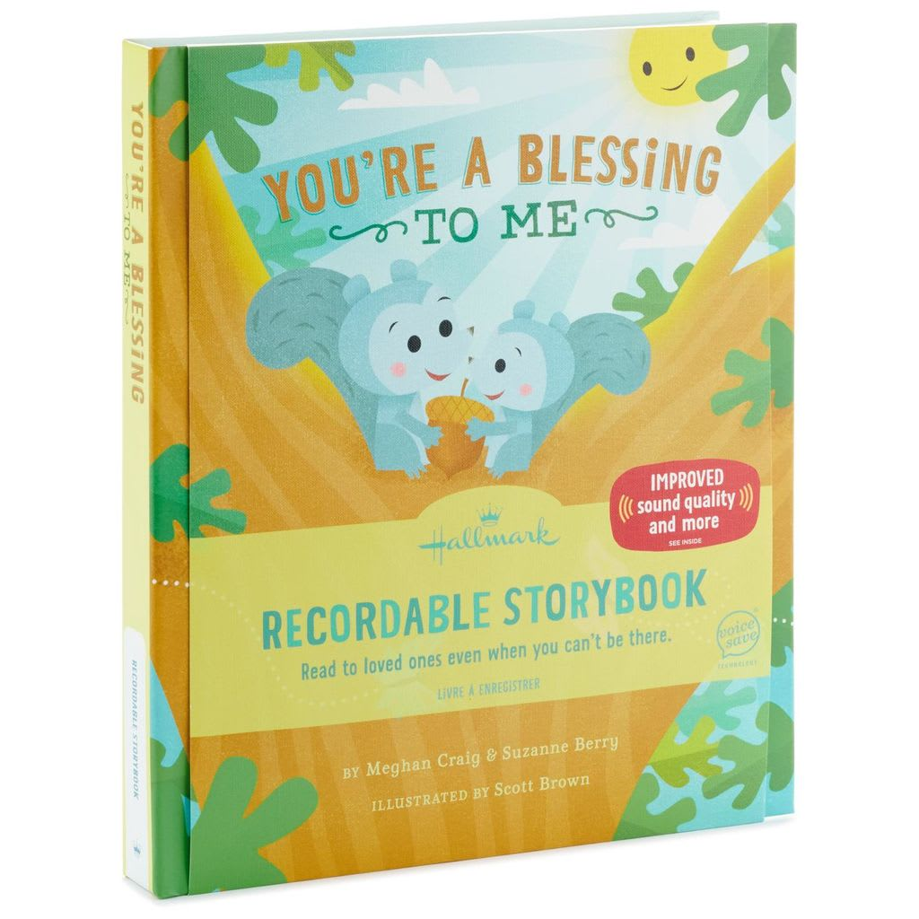 You're A Blessing to Me Recordable Storybook | Hallmark Awesome Gifts