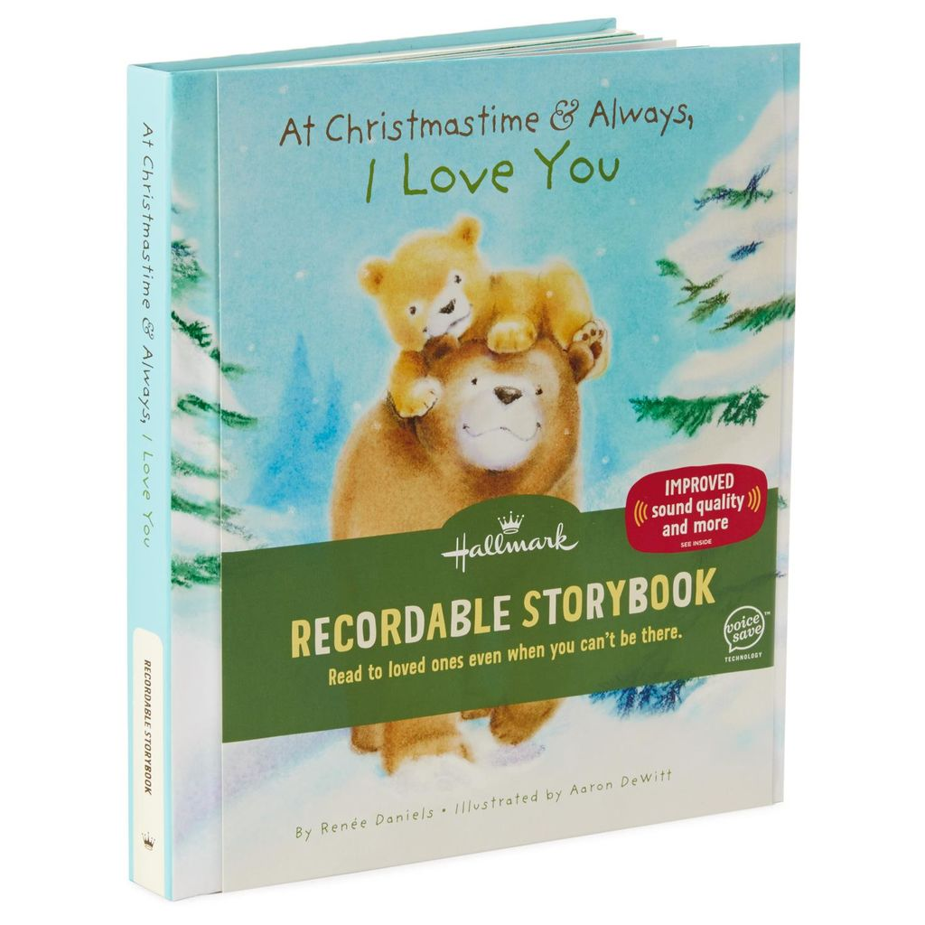At Christmastime and Always, I Love You Recordable Storybook