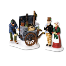 The Coffee Stall, Dickens' Village | Hallmark Awesome Gifts
